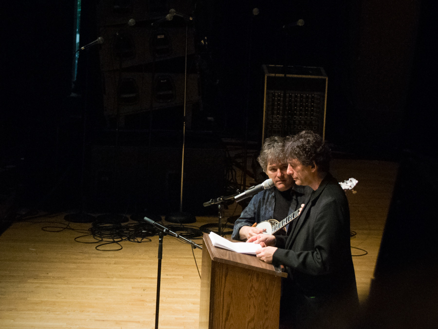 Bela Fleck and Neil Gaiman