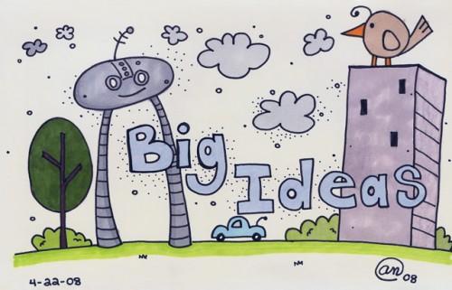 big ideas - original artwork by Andy McNally