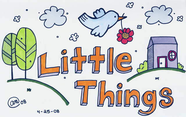 little things - original artwork by Andy McNally