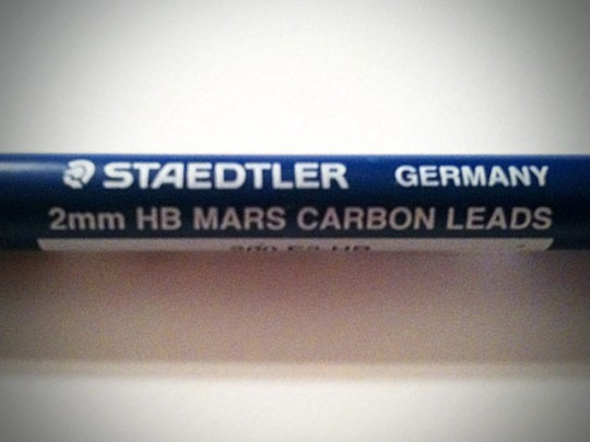 Staedtler 2mm HB leads