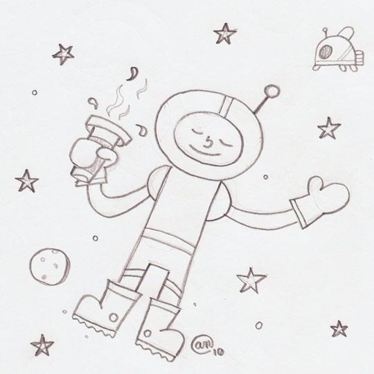 star gazer sketch