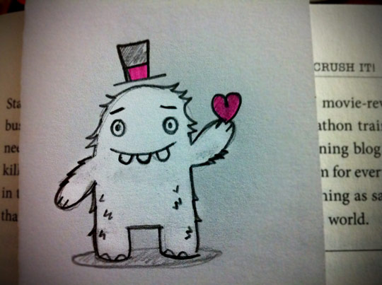 Valentine Boy Monster