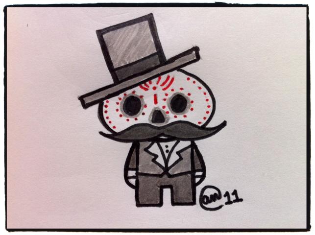 Dia de los Muertos sketch