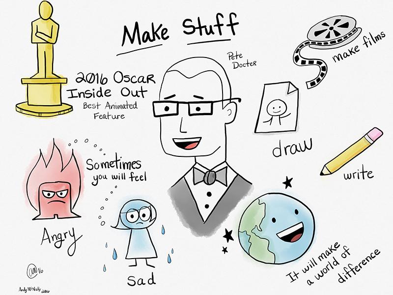 Make Things sketchnote