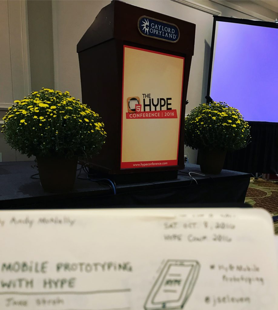 the Hype Conference 2016 Sketchnotes