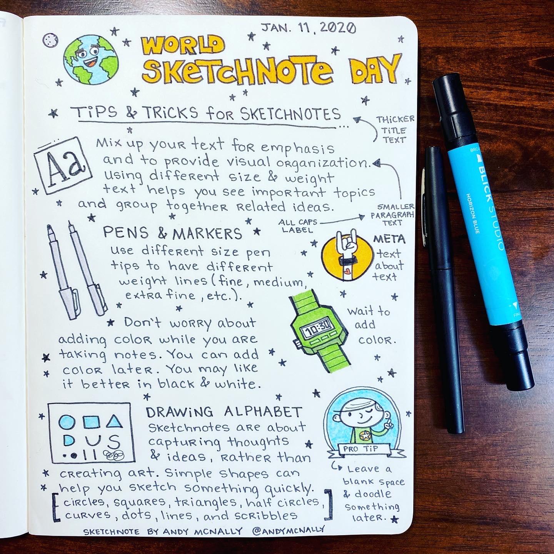 World Sketchnote Day 2020 - 2