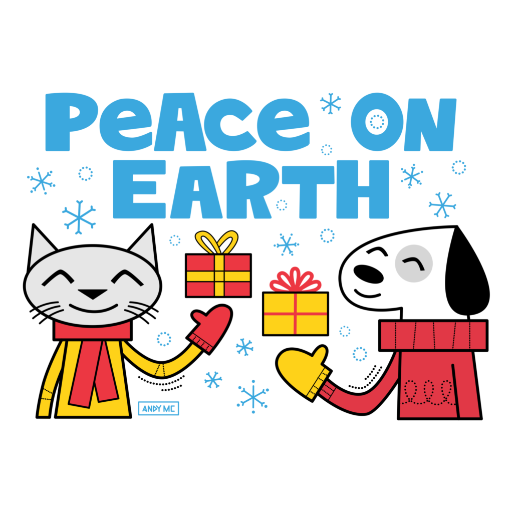Peace on Earth illustration