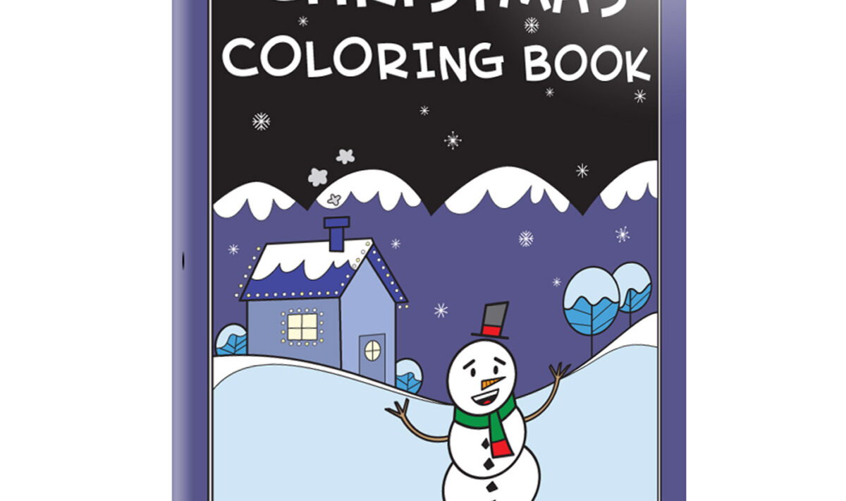 Christmas Coloring Book front cover
