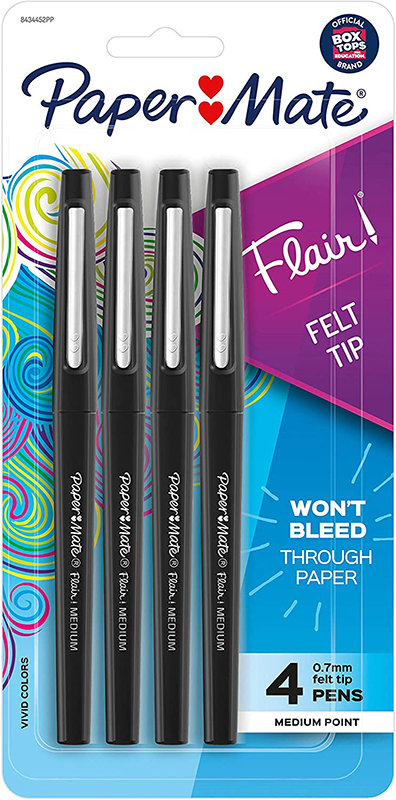 Paper Mate Flair Felt Tip Pens