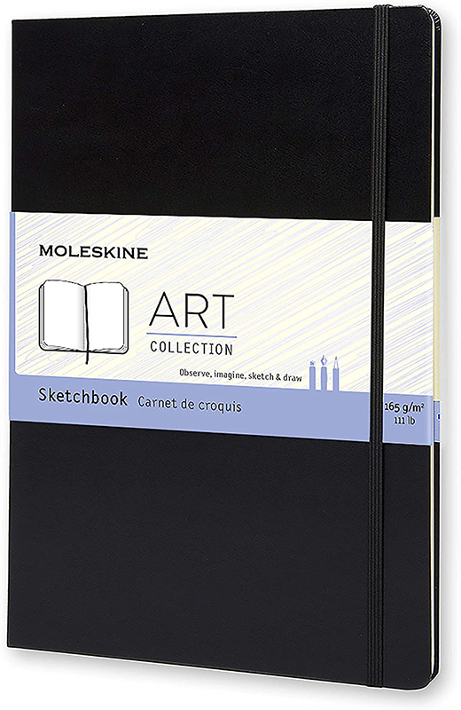 molskine hard cover art journal